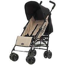 Buy OBaby Atlas Stroller, Sand Online at johnlewis.com