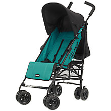 Buy OBaby Atlas Stroller, Turquoise Online at johnlewis.com