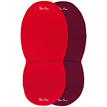 Buy Silver Cross Surf, Wayfarer and Pioneer Seat Liner, Chilli/Aubergine Online at johnlewis.com