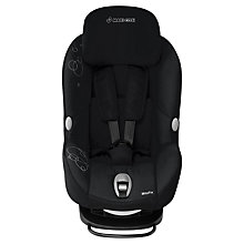 Buy Maxi-Cosi MiloFix 2-in-1 Car Seat, Total Black Online at johnlewis.com