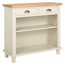 Buy John Lewis Drift Tall Bookcase, Cream Online at johnlewis.com