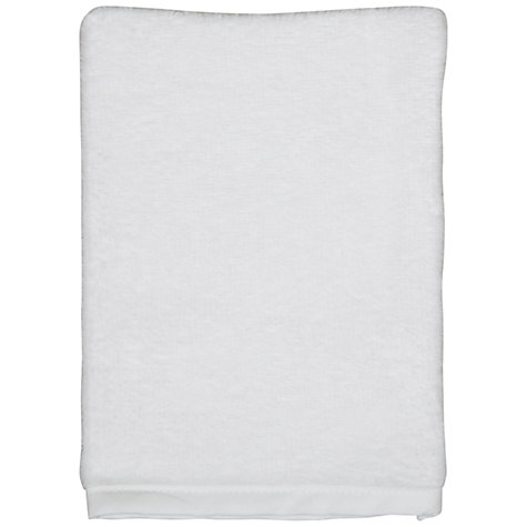Buy John Lewis Baby Waffle Hooded Towels and Wash Mitt, Pack of 2, White Online at johnlewis.com