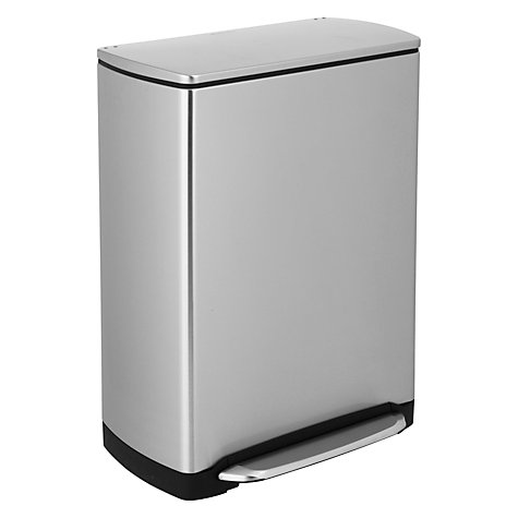 Buy simplehuman Wide-Step Recycling Bin, 46L Online at johnlewis.com