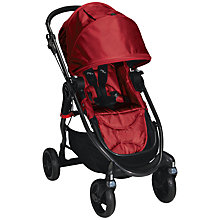Buy Baby Jogger City Versa Pushchair, Red Online at johnlewis.com
