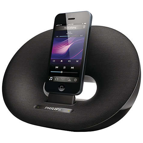 Buy Philips DS3205/05 iPod/iPhone Dock with Apple Lightning, Black Online at johnlewis.com
