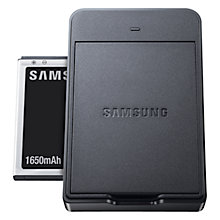 Buy Samsung Galaxy Camera Battery Kit, Black Online at johnlewis.com