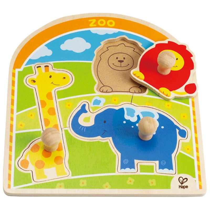 Hape Hape At the Zoo Puzzle