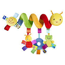 Buy Taggies Caterpillar Travel Toy Online at johnlewis.com