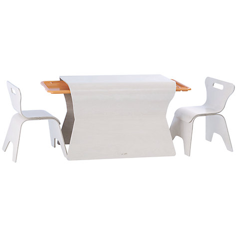 Buy bloom Otto Table and Chairs Set, Beach House White Online at johnlewis.com