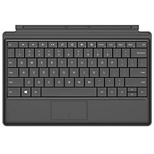 Buy Microsoft Type Cover, Keyboard Cover for Surface, Black Online at johnlewis.com