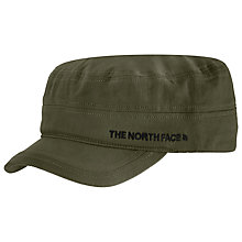 Buy The North Face Logo Military Hat, Taupe Green Online at johnlewis.com