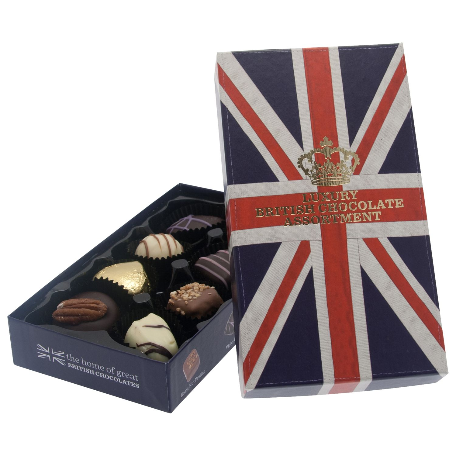 House of Dorchester House of Dorchester Flying the Flag Luxury Assorted Chocolate Box, 100g
