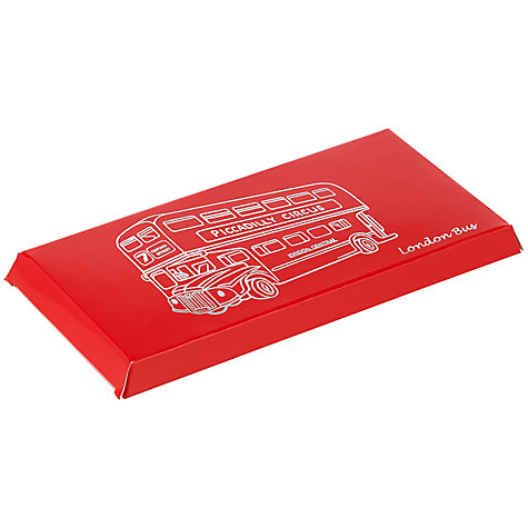 Buy Ambassadors of London Milk Chocolate London Bus Bar, 100g Online at johnlewis.com