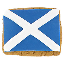 Buy Image on Food Scottish Flag Gingerbread Biscuit, 85g Online at johnlewis.com