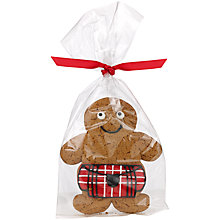 Buy Image on Food Scotsman Gingerbread Biscuit, 50g Online at johnlewis.com