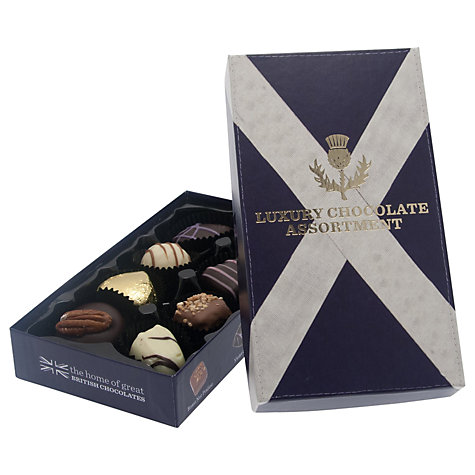 Buy House of Dorchester Scottish Luxury Assorted Chocolate Box, 100g Online at johnlewis.com