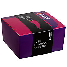 Buy James Chocolates Chilli Chocolate Tasting Box, 180g Online at johnlewis.com