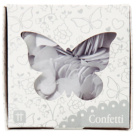 Buy Talking Tables Confetti, White Online at johnlewis.com