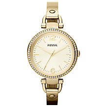 Buy Fossil Women's Georgia Stainless Steel Watch Online at johnlewis.com
