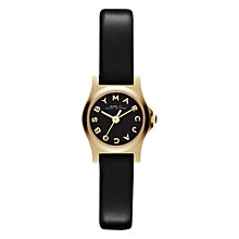 Buy Marc by Marc Jacobs MBM1239 Women's Dinky Henry Watch, Black Online at johnlewis.com