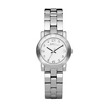Buy Marc by Marc Jacobs MBM3055 Women's Steel Bracelet Round Watch, Silver Online at johnlewis.com