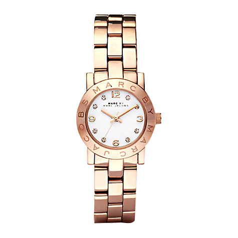 Buy Marc Jacobs Women's Mini Amy Stainless Steel Bracelet Strap Watch Online at johnlewis.com