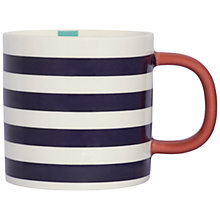 Buy Joules Stripe Mug Online at johnlewis.com