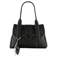 Buy Radley Cheadle Leather Medium Flapover Tote Handbag Online at johnlewis.com