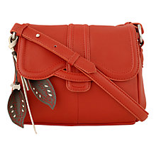 Buy Radley Cheadle Leather Flapover Cross Body Handbag Online at johnlewis.com