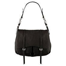 Buy Radley Grosvenor Large Shoulder Bag, Black Online at johnlewis.com