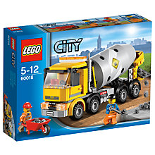 Buy LEGO City Cement Mixer Online at johnlewis.com