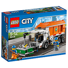 Buy LEGO City Garbage Truck Bundle with Free Watch Online at johnlewis.com