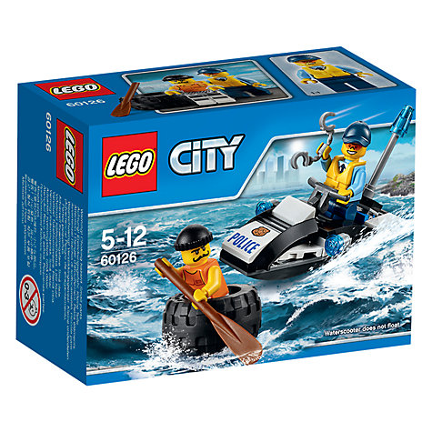 Buy LEGO City Police ATV Online at johnlewis.com