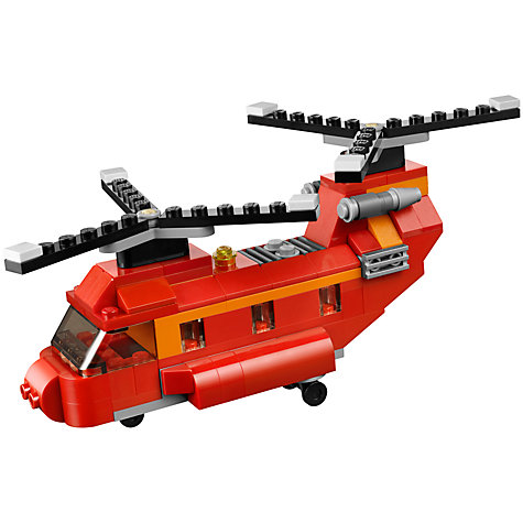 Buy LEGO Creator 3-in-1 Red Rotors Online at johnlewis.com