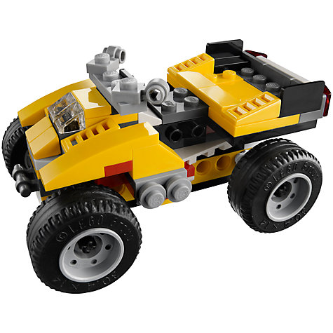 Buy LEGO Creator 3-in-1 Super Racer Online at johnlewis.com