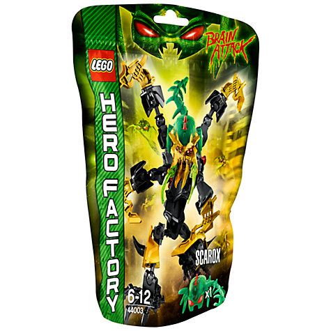 Buy LEGO Hero Factory, Scarox Online at johnlewis.com