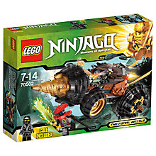 Buy LEGO Ninjago Cole's Earth Driller Online at johnlewis.com
