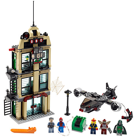 Buy LEGO Super Heroes: Spider-Man, Daily Bugle Showdown Online at johnlewis.com
