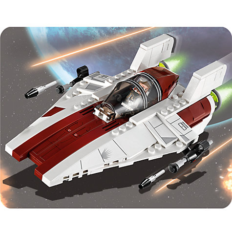 Buy LEGO Star Wars: A-wing Starfighter Online at johnlewis.com