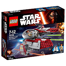 Buy LEGO Star Wars 75135 Obi-Wan's Jedi Interceptor Online at johnlewis.com