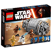 Buy LEGO Star Wars 75136 Droid Escape Pod Online at johnlewis.com