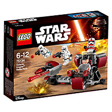Buy LEGO Star Wars 75134 Galactic Empire Battle Pack Online at johnlewis.com