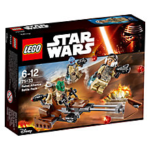 Buy LEGO Star Wars 75133 Rebel Alliance Battle Pack Online at johnlewis.com