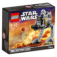 Buy LEGO Star Wars: AT-DP Microfighter Online at johnlewis.com
