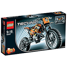Buy LEGO Technic 2-in-1 Moto Cross Bike Online at johnlewis.com