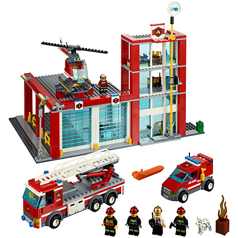 Buy LEGO City Fire Station Online at johnlewis.com