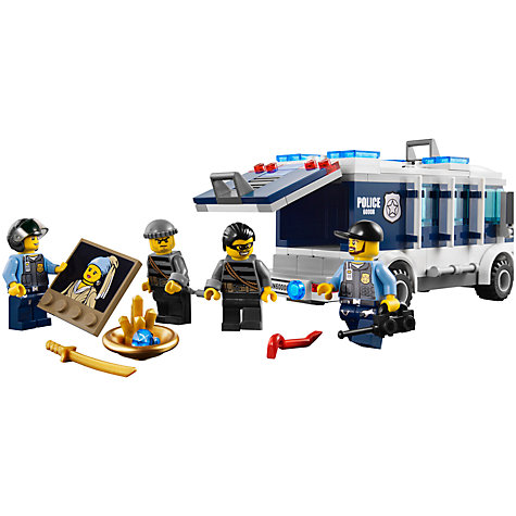 Buy LEGO City Museum Break In Online at johnlewis.com