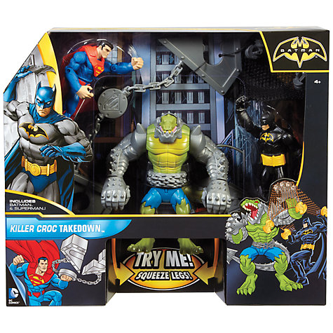 Buy Batman and Superman Battle In A Box, Killer Croc Takedown Online at johnlewis.com