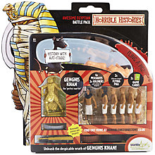 Buy Horrible Histories Awesome Egyptian Battle Pack Online at johnlewis.com