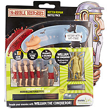 Buy Horrible Histories Rotten Roman Battle Pack Online at johnlewis.com